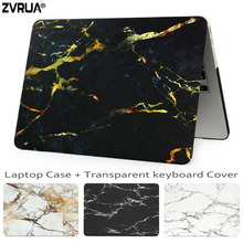 Buy ZVRUA Marble Laptop Case Macbook Air Pro Retina 11 12 13.3 15 inch New Mac Book 13 15 Touch Bar +Keyboard Cover for $8.89 in AliExpress store