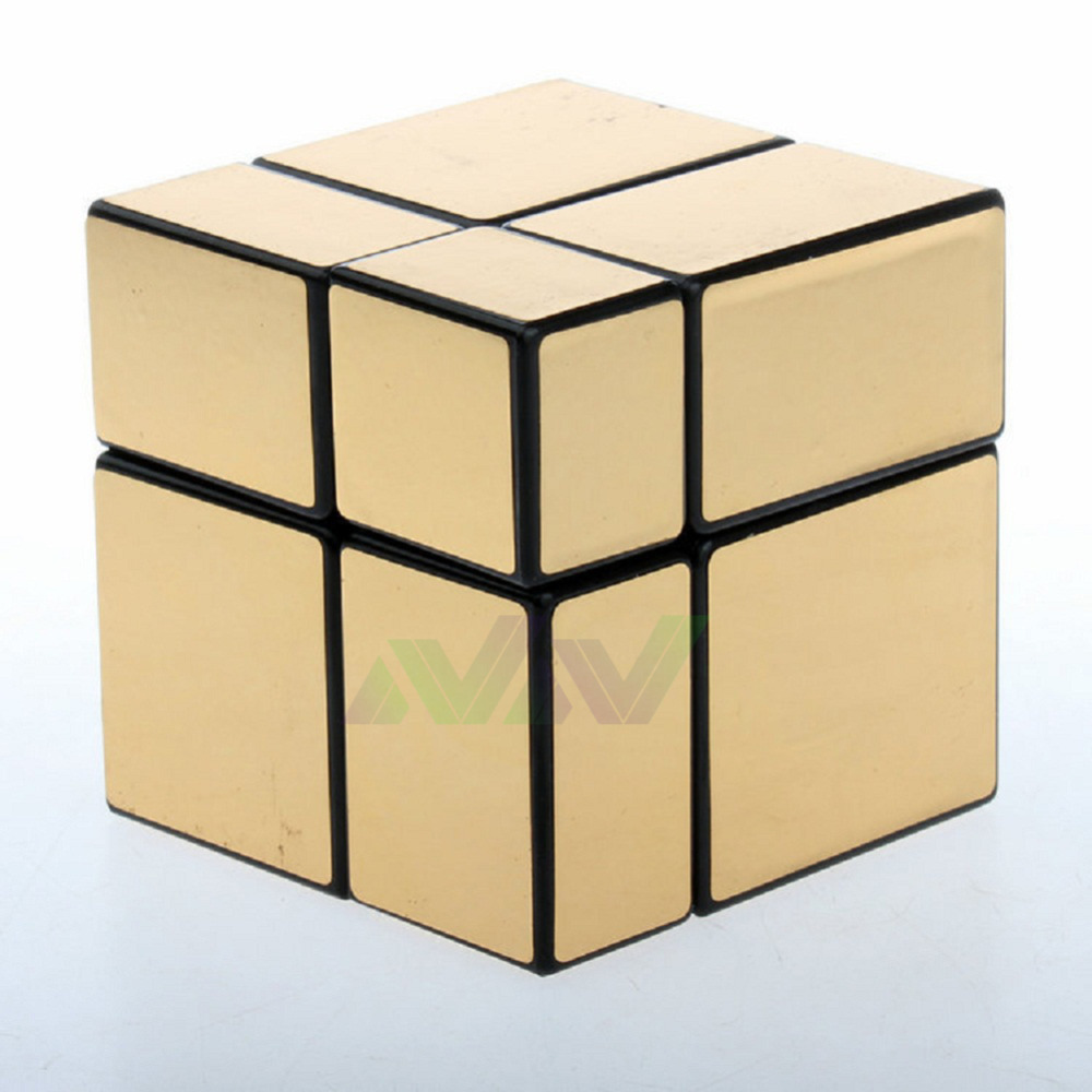 New Arrival Mirror Cube 2x2x2 57mm Puzzle Magic Cubes Brain Teaser Toys Free Shipping(China (Mainland))
