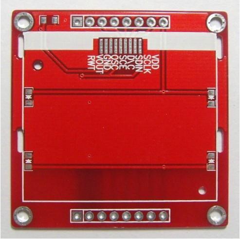 Free Shipping!!! 2pcs Nokia 5110 LCD PCB bare board(China (Mainland))