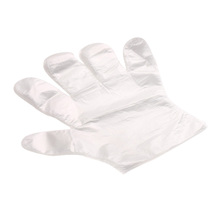 100pcs Eco-friendly  Disposable Plastic Gloves for Restaurant Hotel Handling Raw Chicken OCEA #(China (Mainland))