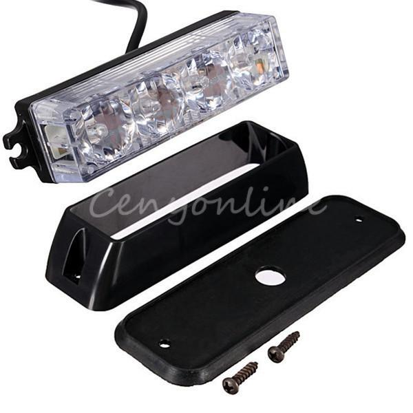 high quality 4 led car truck emergency beacon light bar. Black Bedroom Furniture Sets. Home Design Ideas