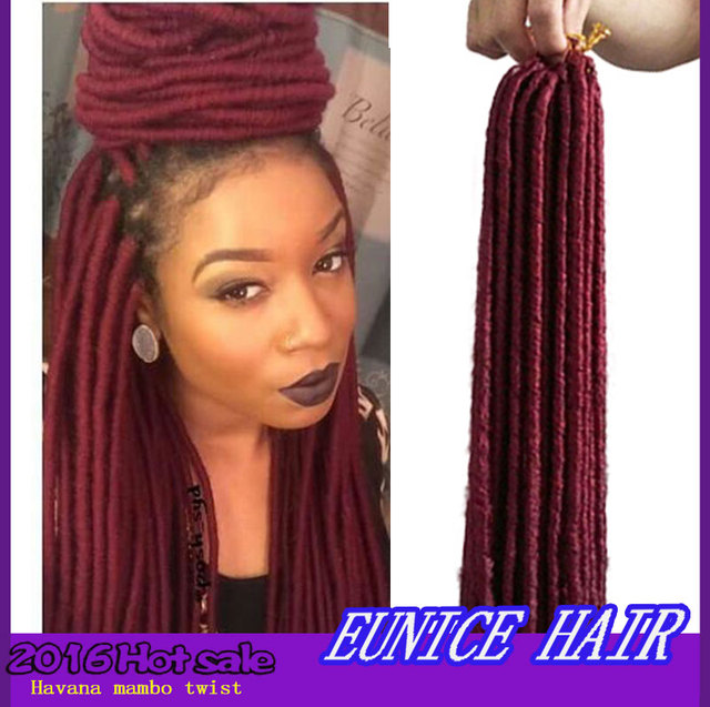Crochet Dreads : ... Dreadlocks Crochet Braids Faux Dreads Synthetic Havana Twist Crochet