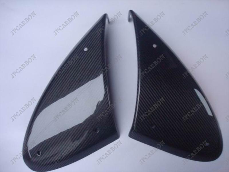 Carbon Fiber Fender Scoops Pods for Lotus Elise Exige Europa Tesla Roadster S1 S2(China (Mainland))