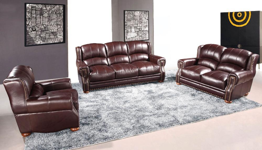 2015 u shaped sectional sofa , modern living room sofa with leather # 1+2+3(China (Mainland))