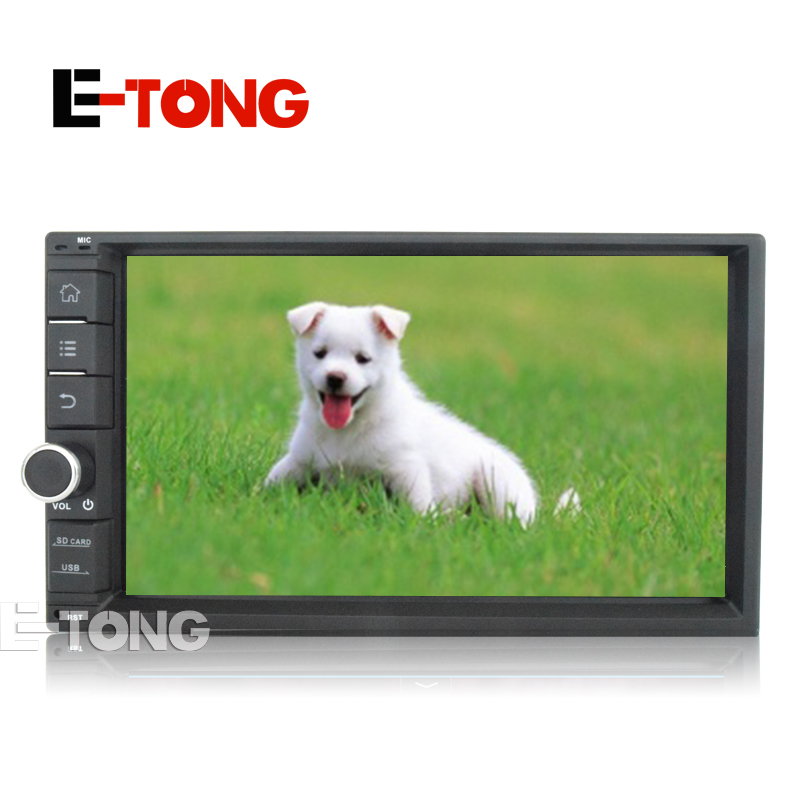 """7""""Quad Core 16G 2 Din GPS Android 4.4 Car DVD GPS Navigation AutoRadio Universal With Steering Wheel Control Rear Camera(China (Mainland))"""