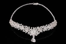 Hair Accessories For Women Fashion Crystal Hair Headpiece Charms Head Bands Bridal Crown Hair Jewelry