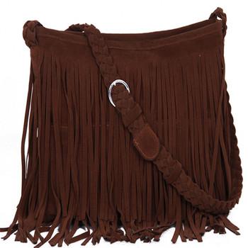 2016 New Women's Messenger Bags Tassel Crossbody Six colors Fringe Shoulder Bag Handbag Ladies High Quality Free Shipping S620