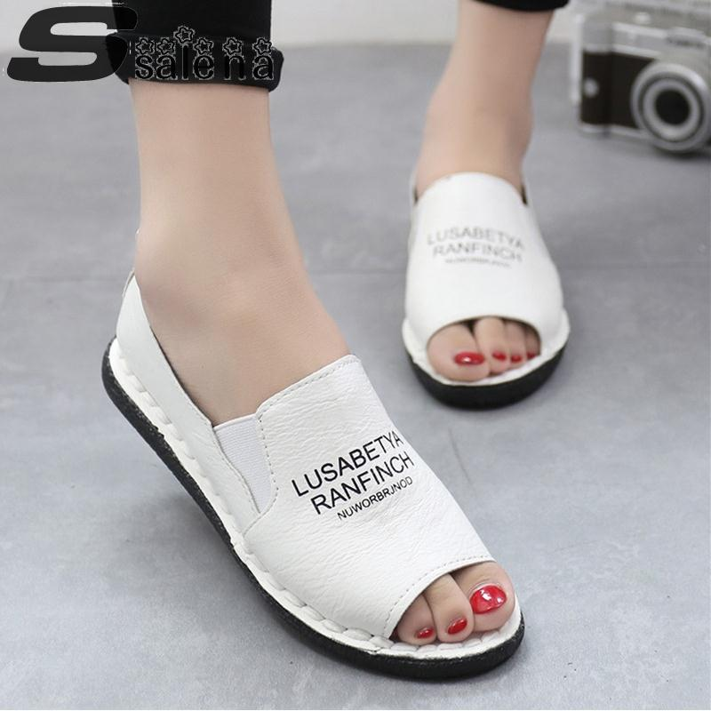Women Flat Shoes Pu Leather Women Loafers Soft Bottom Peas Shoes Fashion Fish Mouth Lady Lazy Shoes Summer And Autumn #B1993(China (Mainland))