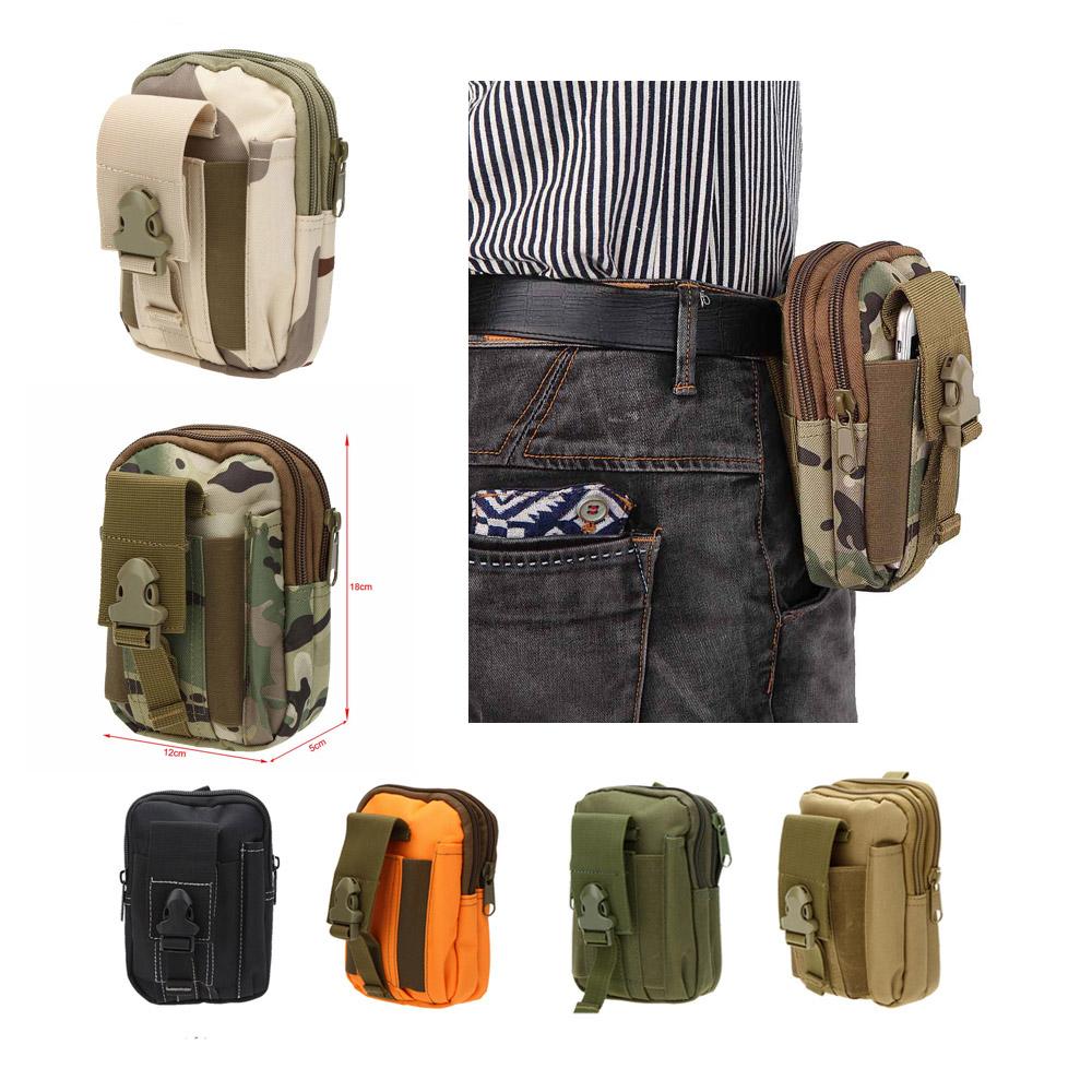 Tactical Molle Bag Pouch Belt Sport Waist Pack Bag Pocket Military Waist Pack Phone Pocket for Samsung Note Men's Travel Bag(China (Mainland))