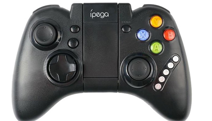 2016 Bluetooth Game Gaming Controller PG-9021 iPega Wireless Joystick Gamepad for Android / iOS MTK Cell phone Tablet PC TV BOX