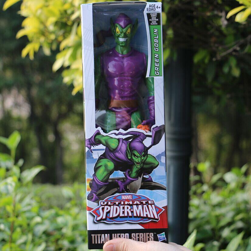 TITAN HERO SERIES marvel ultimate spider-man web-warriors Green Goblin Marvel Avengers movable model