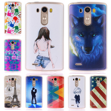 Smile Case LG G3 3D Relief painting soft Silicon back cover case D855 D850 F400 VS985 LS990 Cases - X0 Technology Co., Ltd. store