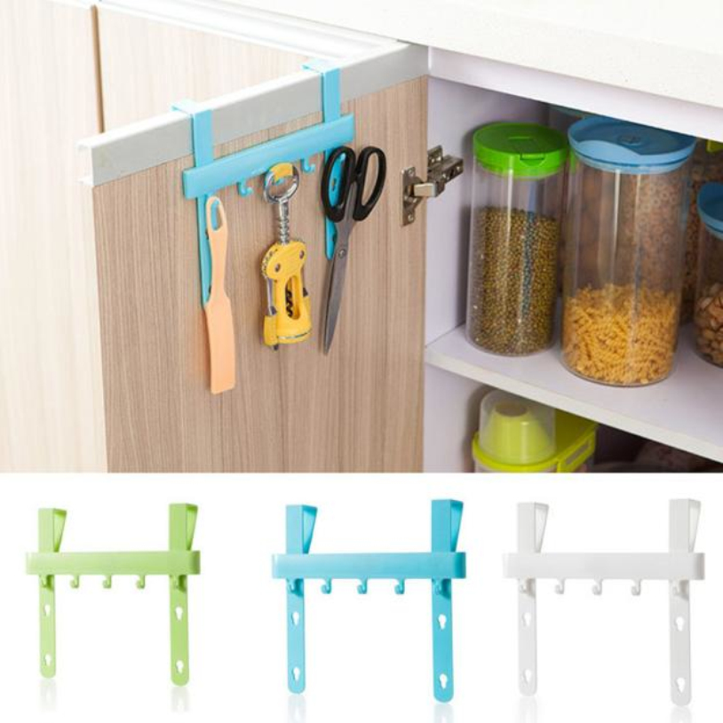 Organizer Blue Hanging Cupboard Door Over The Kitchen Cabinet Back Style Stand Trash Garbage
