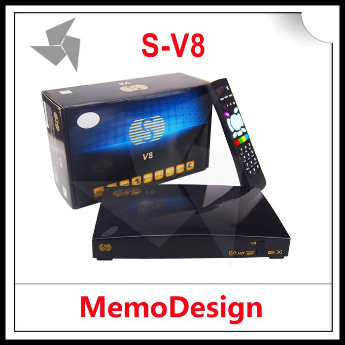 Приемник спутникового телевидения S-V8 s/v8 10 /v8 Youporn, XMLTV EPG .dual/core, 396 MIPS 2015 s/v8 приемник спутникового телевидения 2 hd openbox z5 youtube youporn
