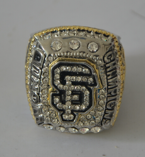 New arrival 2014 2015 San Francisco Giants World Series CHAMPIONSHIP RING BUMGARNER Replica as fan gift for men(China (Mainland))