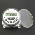 Multipurpose TM619 220V Digital Timer Switch with Waterproof Cover output 220V Easy Wiring 7 days Programmable