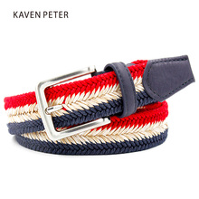 Buy Newest Unisex Braided Woven Belt Mixed Color Jeans Wax Rope Straw Material Belt Suit Woman Men Big Size for $8.80 in AliExpress store