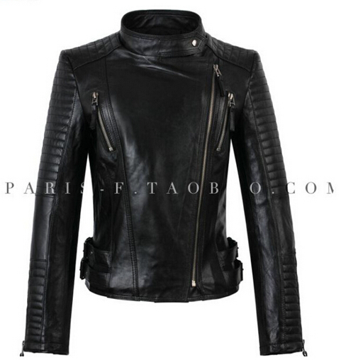 Bomber real Leather jackets winter new 2015 women designer fashion outerwear jacket supernova sale jaqueta couro M - 4XL largeОдежда и ак�е��уары<br><br><br>Aliexpress