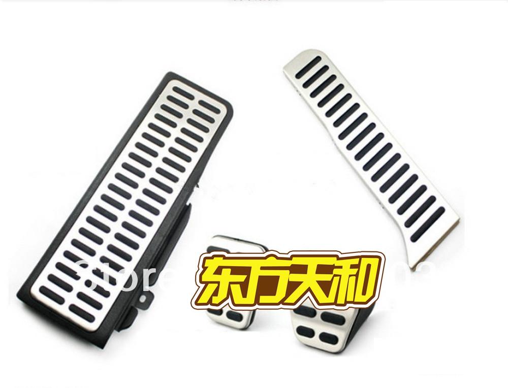 For VW Passat B6 B7L CC 4pcs/Kit Stainless Steel Manual Transmission MT Pedal<br><br>Aliexpress
