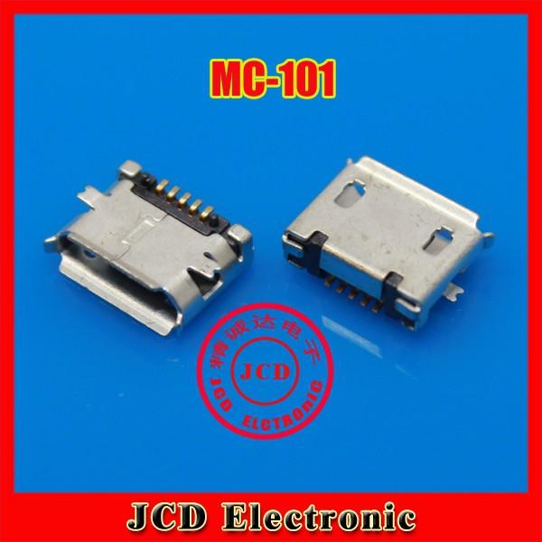 CK Micro USB socket MK Mike 5P MINI USB Micro USB female 5 foot patch SMD,MC-101(China (Mainland))