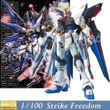 Daban Model Kits New Gundam Seed MG 1/100 ZGMF-X20A Strike Freedom Mobile Suit Genuine kids toys Robot Action Figures Toys Anime