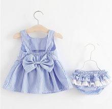 Meninas bonito floral 2019 doce verão bebê menina folha de lótus vestido praia saia roupa interior terno do bebê meninas vestido(China)
