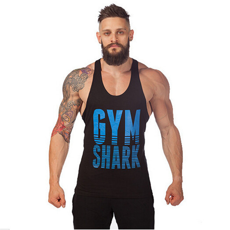 Golds Gym Tank Tops Men Sleeveless Shirt Bodybuilding Clothing Fitness Singlets Cotton Stringer Sport Tops Plus Size Muscle Vest(China (Mainland))