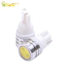 10 pcs/lot T10 W5W 184 194 LED Door Clearance Interior Signal Bulb Light Source Car Auto LED Lamp Tail Corner Parking White(China (Mainland))