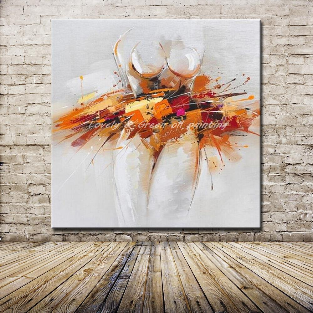 Online kopen Wholesale modern art paintings abstract uit China ...