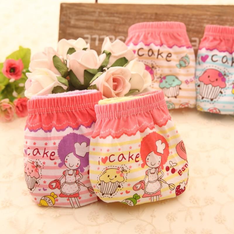 2015 3PCS/Lot Cotton Candy Color Toddler Girls Underwear Baby Girl Boxer Underwear Boxer Kids Dora Underwear Culotte Bebe Fille(China (Mainland))