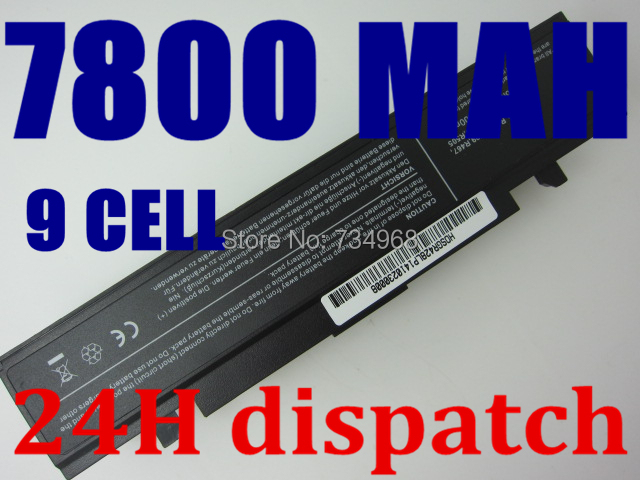 7800MAH laptop battery For SAMSUNG R428 R429 R430 R460 R462 R463 AA-PB9NC6B AA-PB9NC6W AA-PB9NC6W/E battery,Free shipping,(China (Mainland))