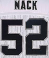 4 Derek Carr 24 Charles Woodson 34 Bo Jackson 52 Khalil Mack 89 Amari Cooper Color:Black White Size:M~XXXL(China (Mainland))