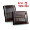 New travel RFID wallet genuine leather men wallets with detachable credit card holder purses carteira masculina