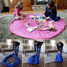 baby toys fast storage bag home / picnic / car toys organizer fast pouch baby TOY STORAGE BAG home / outdoor play mat NG4S(China (Mainland))