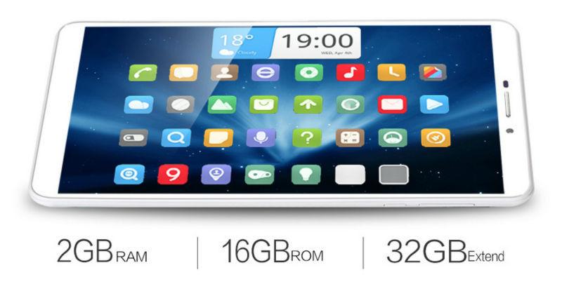 3G Phone Call Tablet PC Original Aoson M76T 7 IPS WCDMA MTK8392 Octa Core 2GB RAM