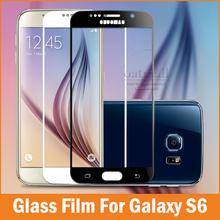 Защитное закалённое стекло Gorilla Glass твёрдость 9H 0,3мм толщиной для Samsung Galaxy S6