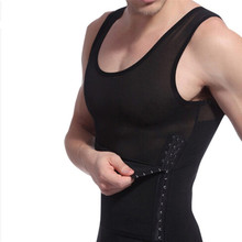 hot men shaper vest slimming body shaper waist cincher tummy control girdle shirt underwear belly sport shaperwear tank top