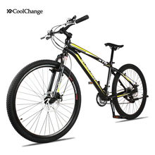 Coolchange 4Color Men Women mountain bike 21 speed Gear shift 26 Inch Double Disc Brakes Bicycle Fashion Road Cycling Riding(China (Mainland))