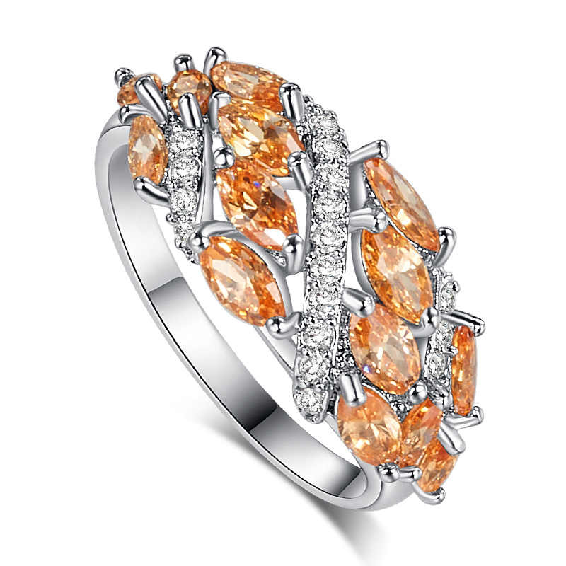 get cheap morganite engagement ring white gold