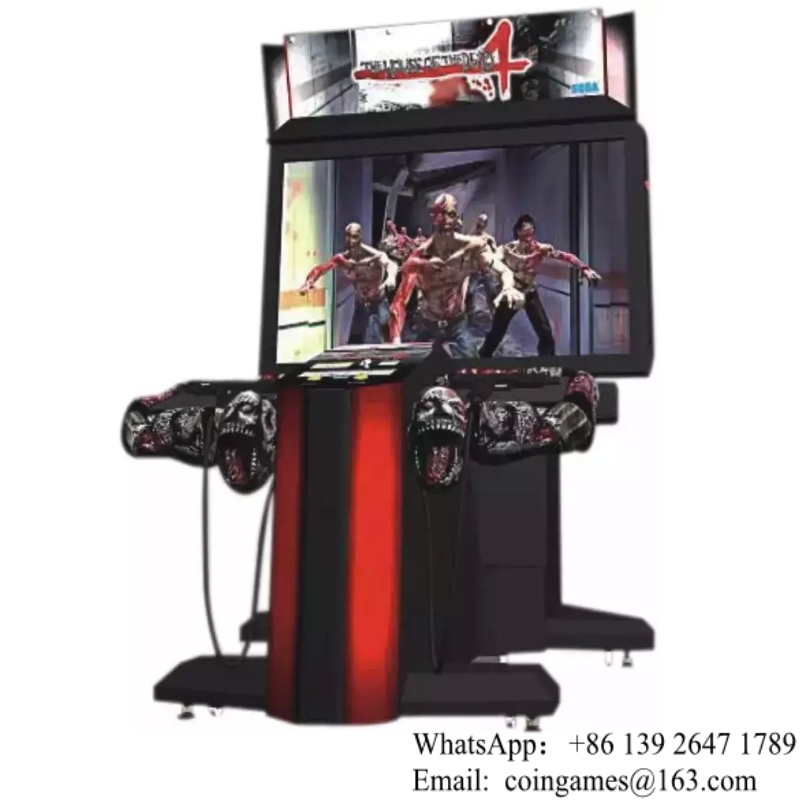 2016 New Amusement Equipment House Of The Dead 4 Gun Shooting Indoor Coin Operated Simulator Arcade Game Machine(China (Mainland))