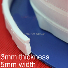 3mm thickness 5mm width PTFE Thera-band F4 Elastic loops teflon seal belt sealing tape Expanded PTFE Joint Sealant(China (Mainland))
