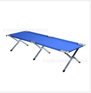 Folding bed beach bed office nap bed single leisure bed