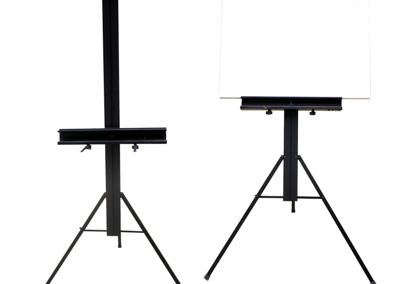 Large aluminum folding easel painting POP display stand can hold full Sketchpad<br>