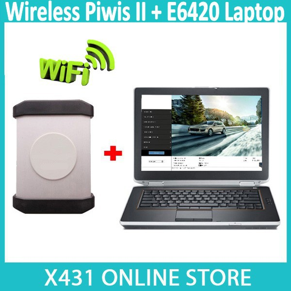 2015 New V15.350 Wireless Piwis II Tester With Second Hand E6420 NoteBook/Laptop For Dell WLAN / Wifi Diagnostic Tool Piwis 2(China (Mainland))