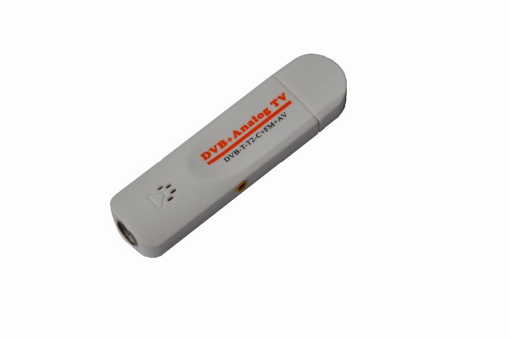 DVB t2 PVR Analog USB TV stick Tuner Dongle PAL/NTSC/SECAM with antenna Remote HDTV Receiver for DVB-T2/DVB-C/FM/DVB/AV(China (Mainland))