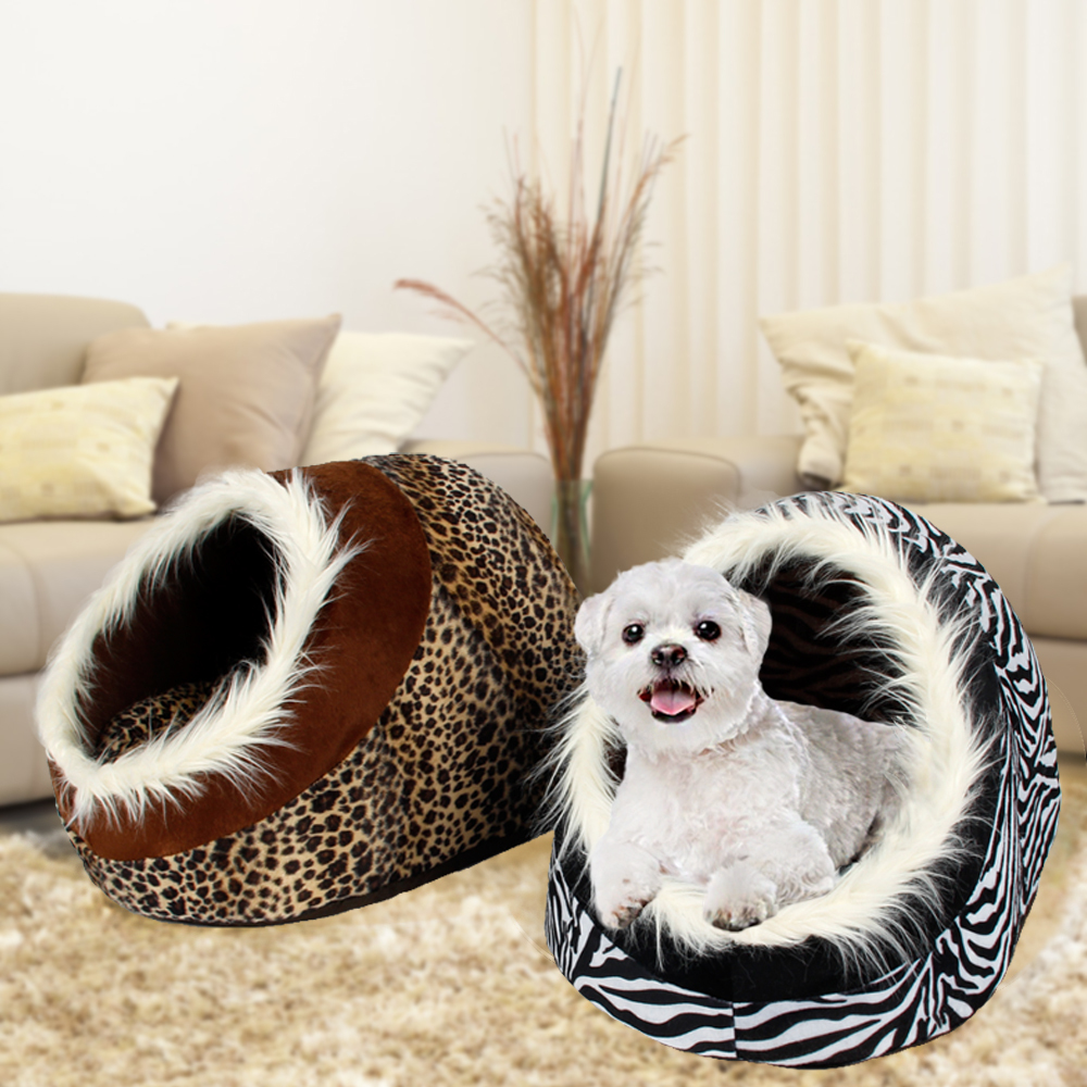 New Dog House Bed Pet House Winter Nest For Puppy Lovely Pet Kennel Cat Warm Cushion Mat(China (Mainland))