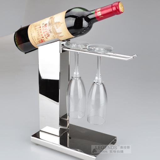 Fashion High Quality Stainless Steel Wine Rack Wine Bottle