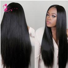Best Quality 8A Brazilian Virgin Hair Straight Brazilian Hair Weave Bundles 3 Pcs Full Head Rosa Brazilian Hair Bundles(China (Mainland))