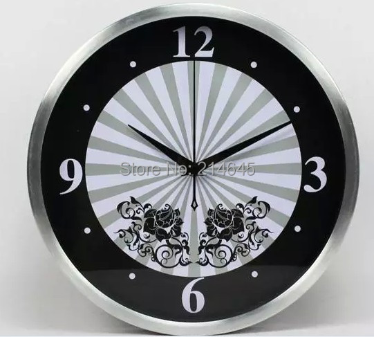 M61 12 inch sitting room mute clocks creative Precision Suzuki movement wall clock with high quality free shipping