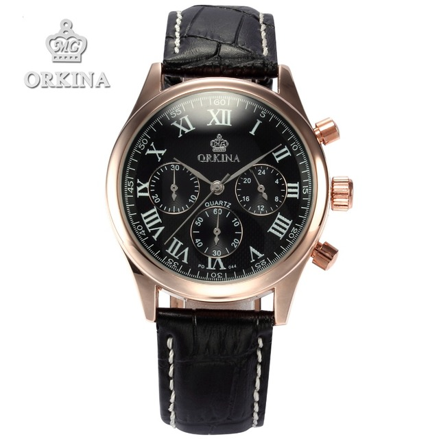orkina brand clock 2016 new luxury chronograph gold
